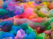 Fotografia illustrazione 3D di texture di disturbo frattale colorato per uso come priorità bassa