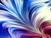 Vyvíjející se barevný tok