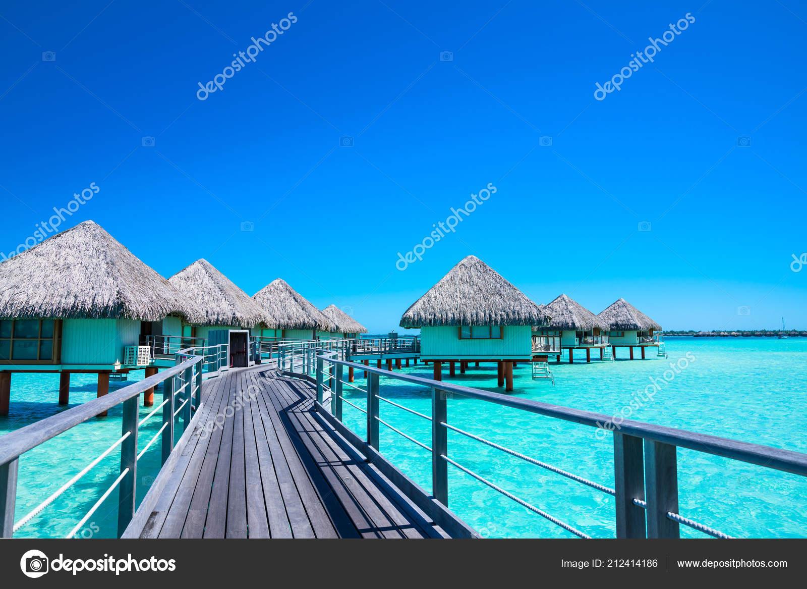 Pictures Bora Bora Overwater Bungalows Overwater