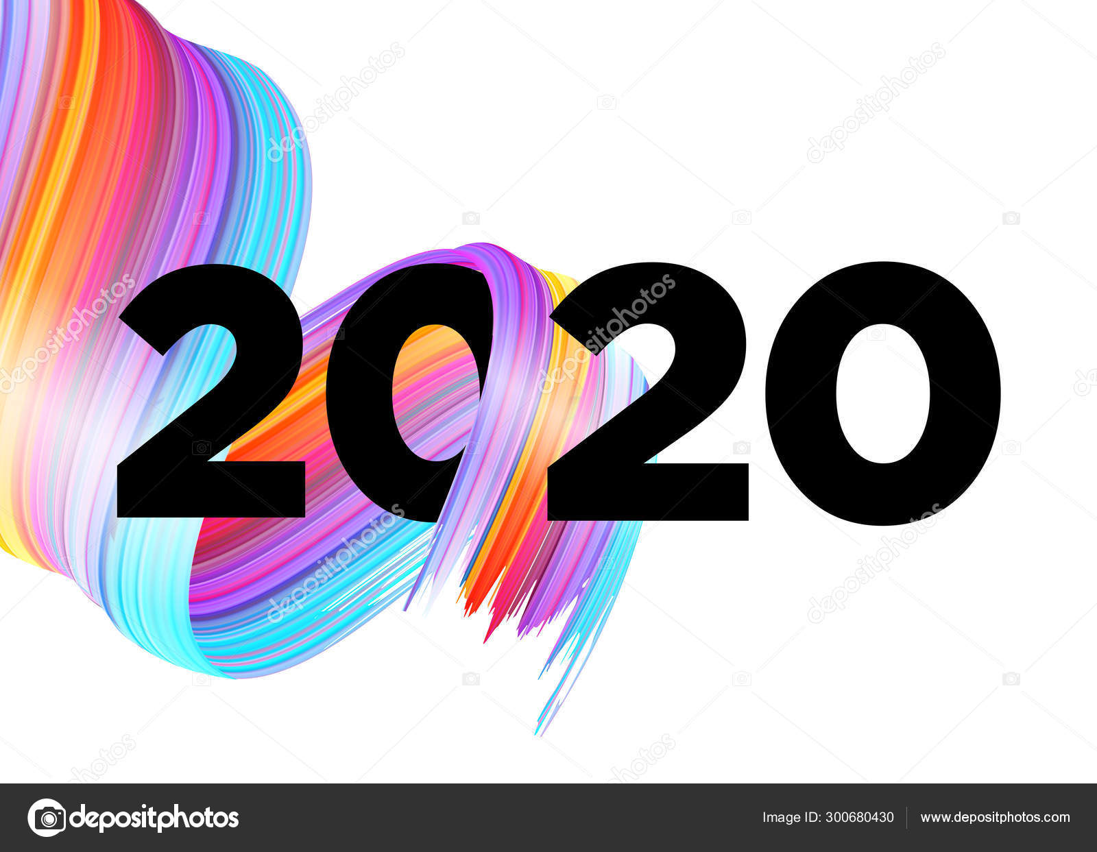 2020 happy new year background design vector lettering with abstract gradient brushstroke colorful illustration for calendar poster greeting card christmas celebration acrylic paint xmas design stock vector c haushe 300680430 2020 happy new year background design vector lettering with abstract gradient brushstroke colorful illustration for calendar poster greeting card christmas celebration acrylic paint xmas design stock vector c haushe 300680430