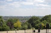 Fotografie Blick auf die Stadt London vom Alexanderpalast aus