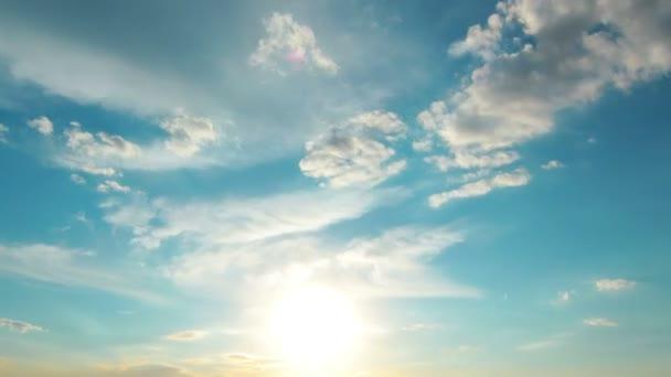 sunset. timelapse. motion. summer.