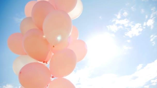 Růžové bubliny v balíčku