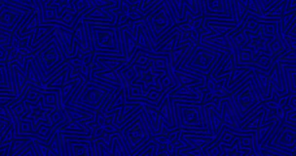 Deep Royal Navy Blue Geometric Background Abstract Shapes Looped