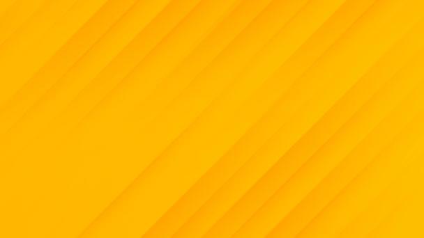 Narancs elvont minimális csíkos gradiens háttér. Üzleti animáció prezentáció, rendezvény, születésnapi parti háttér, Halloween, őszi vásár. Véletlenszerűen mozgó lágy geometriai vonalak. Elegancia Bg stílus