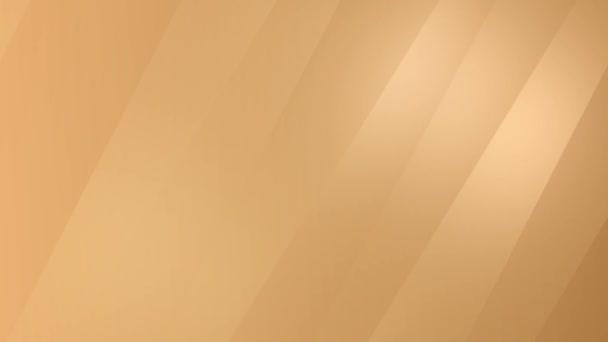 Zlatý lesk smyčky gradient abstraktní pozadí. Firemní animace pro prezentaci, událost, narozeninové pozadí, svatba, Vánoce, Šťastný Nový rok. Náhodně se pohybující měkké geometrické čáry. Textový prostor