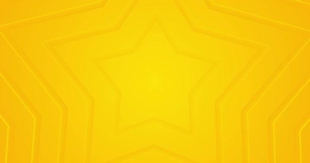 Világos napsütötte sárga hurok gradiens elvont háttér. Minimális animáció prezentáció, rendezvény, parti szöveges háttér. Animált 5 csillagos üzleti értékelés. Végtelen tiszta átmenet. Mozgó rajzfilmvonalak.