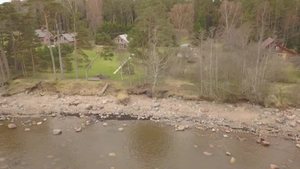 roja latvia baltic sea sea sea air drone Drone Draufsicht 4k uhd video