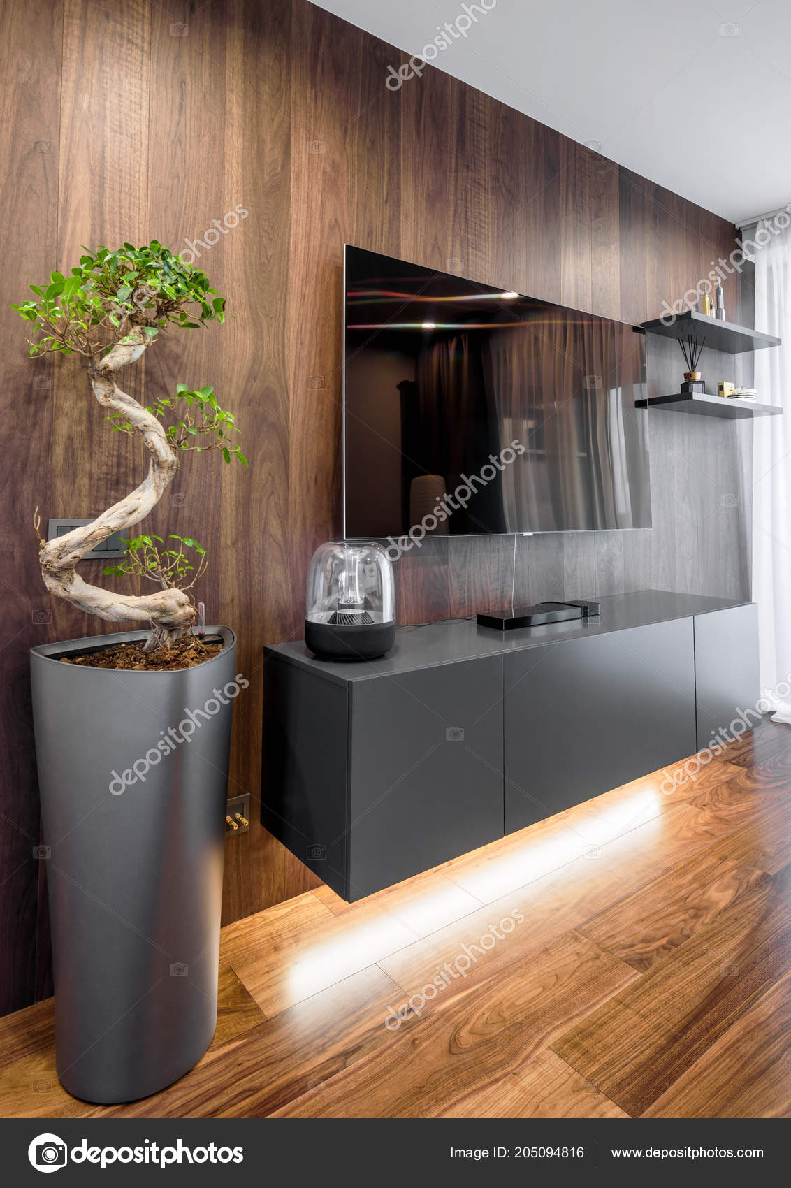 Moscow March 2018 Modern Stylish Home Interior Flower Wood ... on natural wood exterior paint color, natural wood interior design, natural wood kitchen ideas, natural wood texture background,