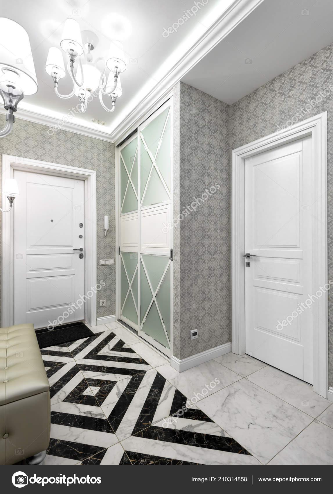 Moderne Wohnung Moskau | Moskau Juni 2018 Moderne Interieur Des Wohn Wohnung Flur Mit