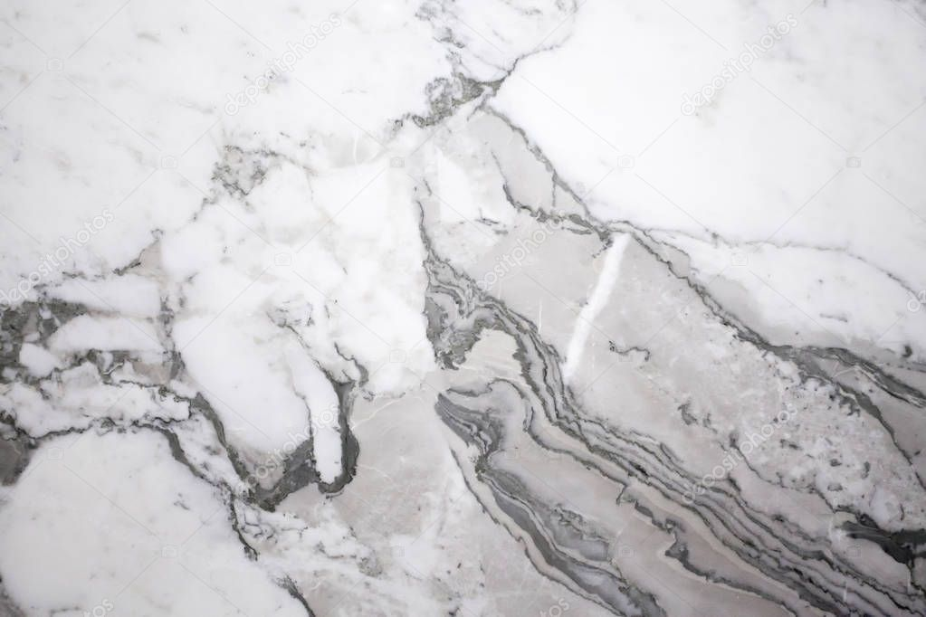 White and gray natural abstract marble texture
