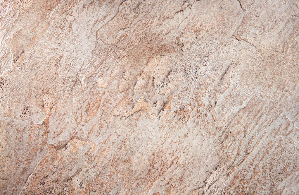 Close up of abstract brown stone texture
