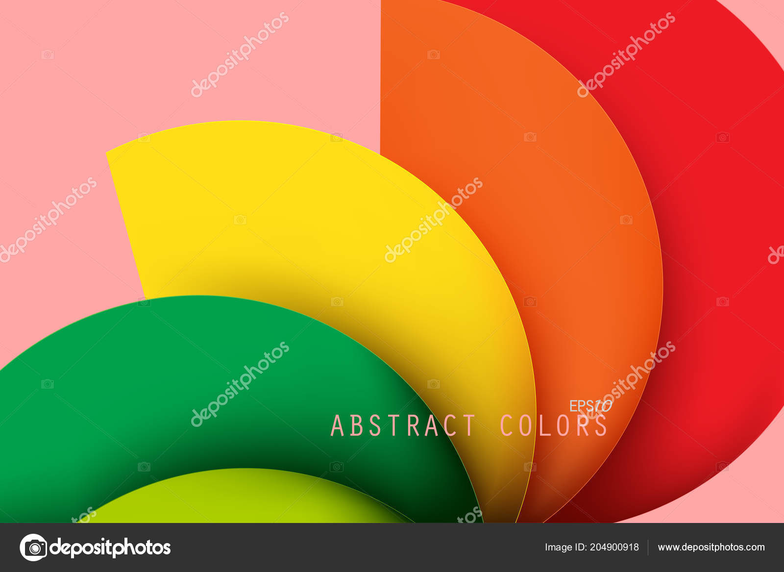 Abstract Colors Curved Scene Vector Wallpaper Backgrounds