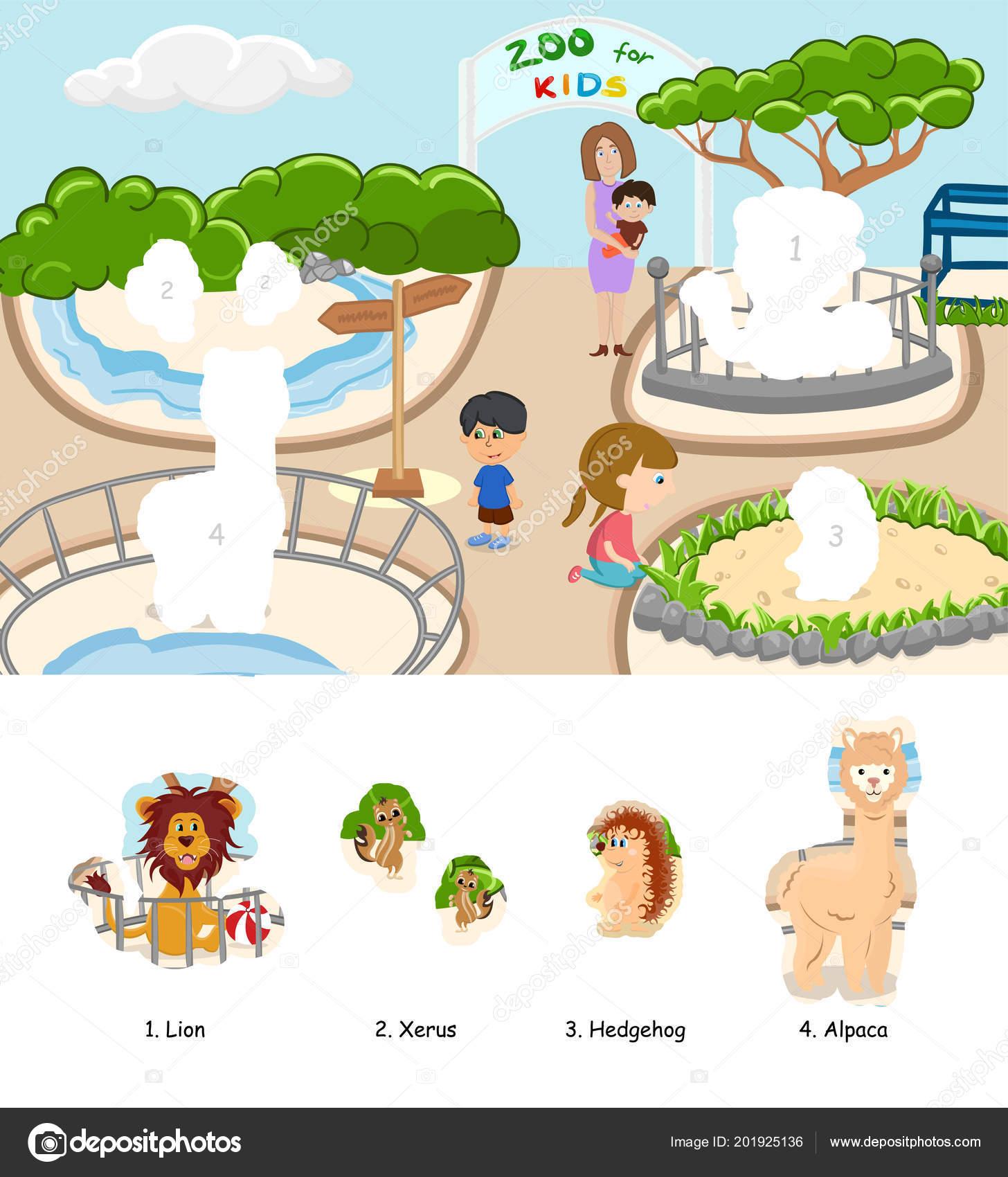 Kleurplaten Dieren Van De Zoo.Kleurplaat Van Dieren Boek Voor Kinderen Met Sticker Dierentuin