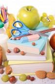 Fotografie zdravé stravování práce nebo do školy