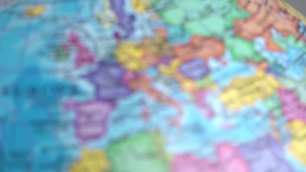 Mapa světa, planisféra planeta