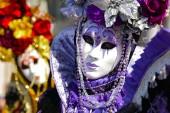 Fotografia Carnevale di Venezia con la mascherina colorata