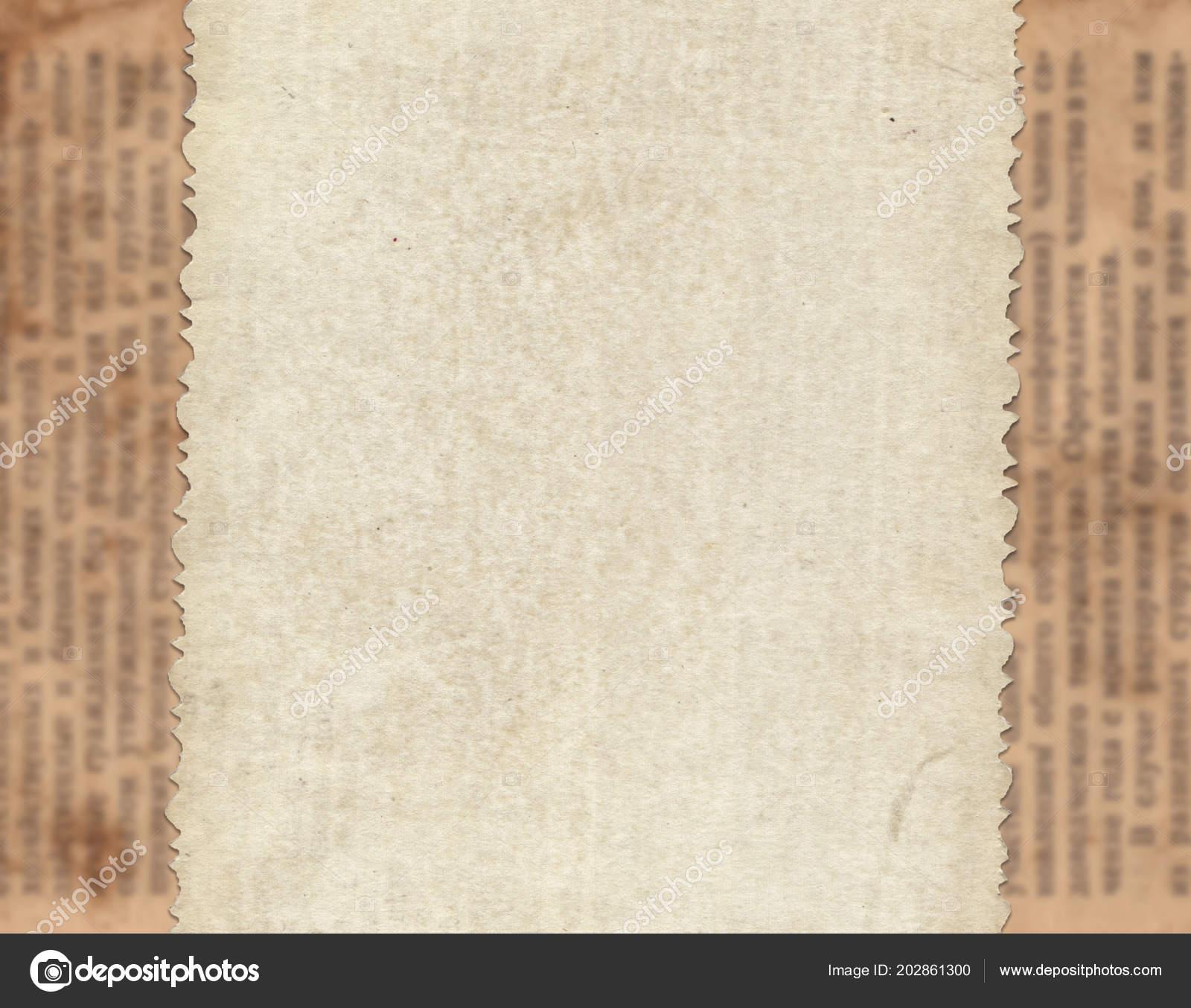 Papel Vintage Fondo Textura Periódico Viejo Fotos De Stock