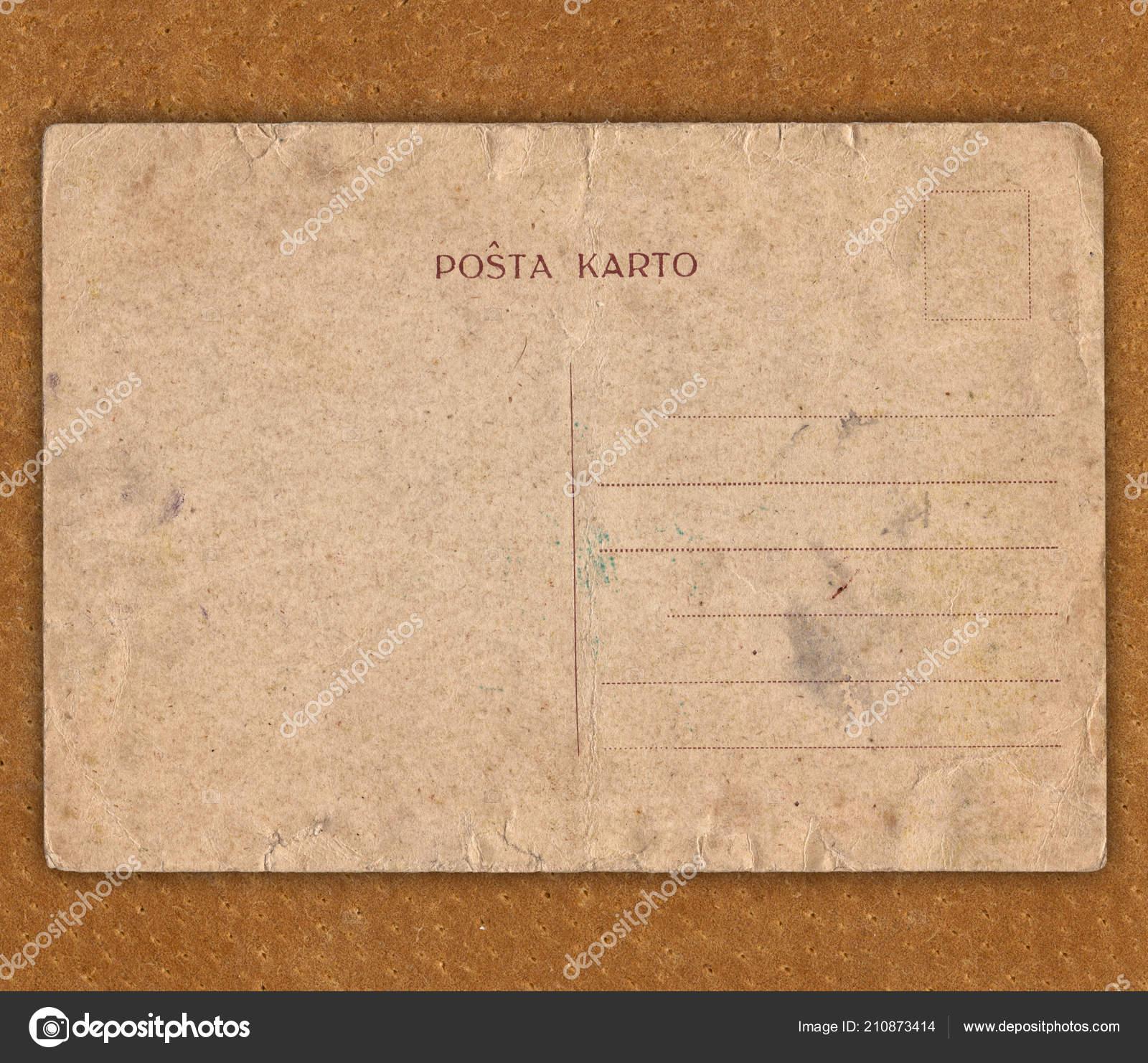 postcard Old bowon vintage