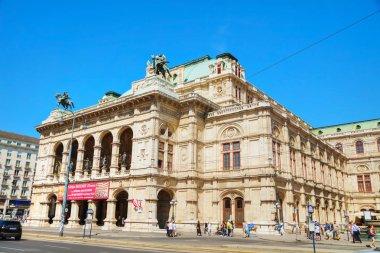 VIENNA, Austria - AUGUST 30, 2017 : Vienna State Opera building