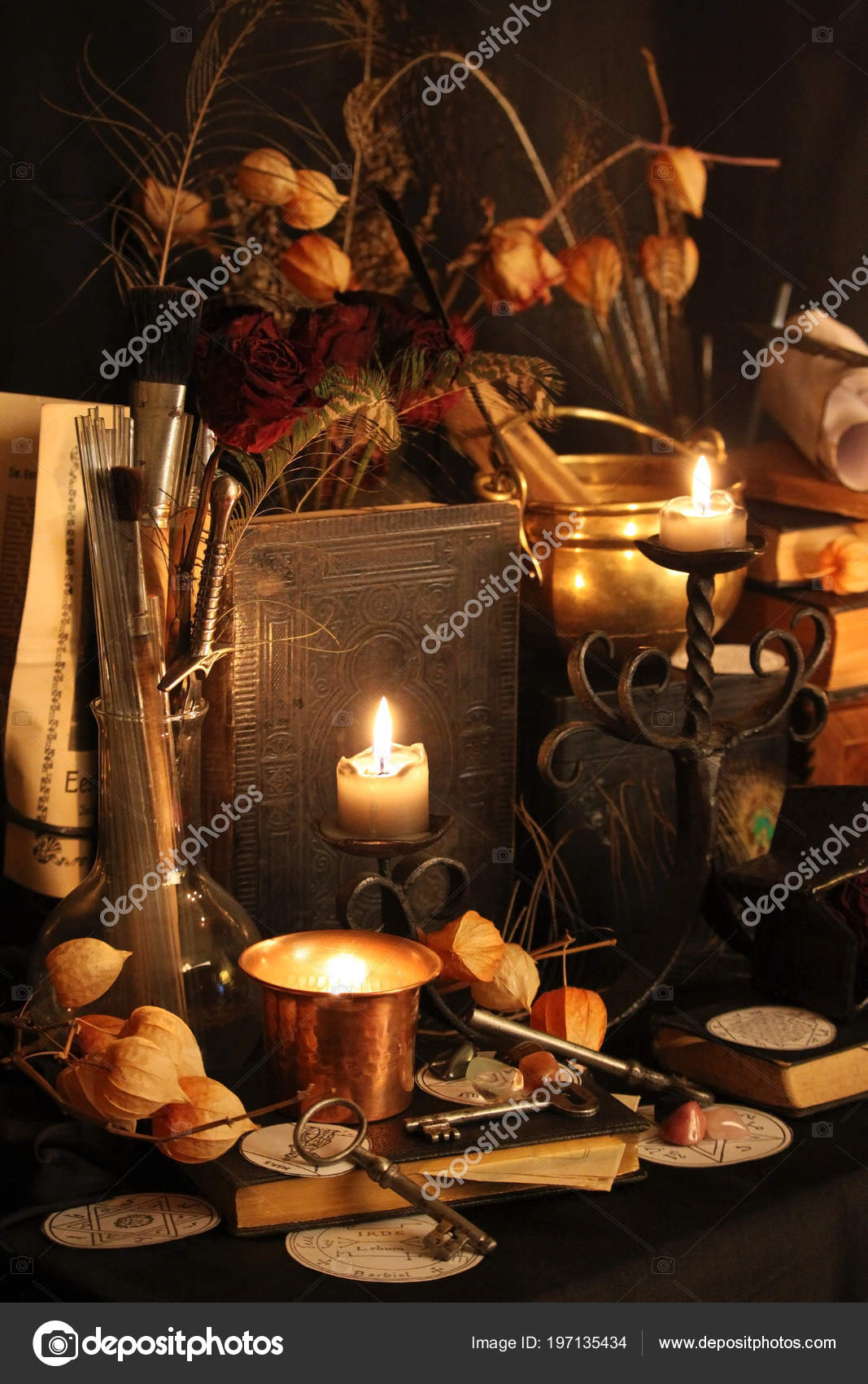 Black Magic Spells Wiccan Spells Herbs Still Live Old Oil