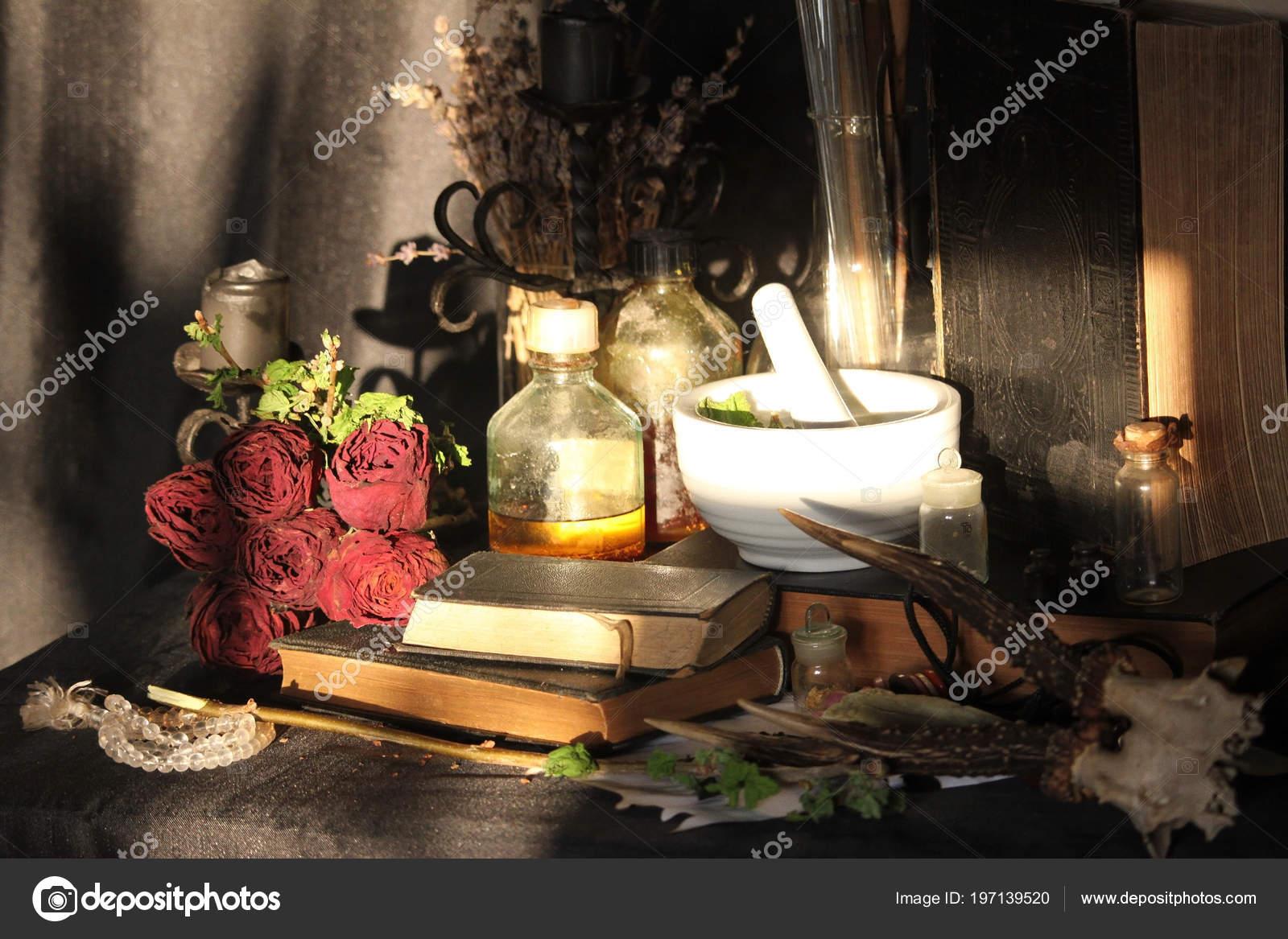 Black Magic Spells Wiccan Spells Herbs Still Live Old Oil