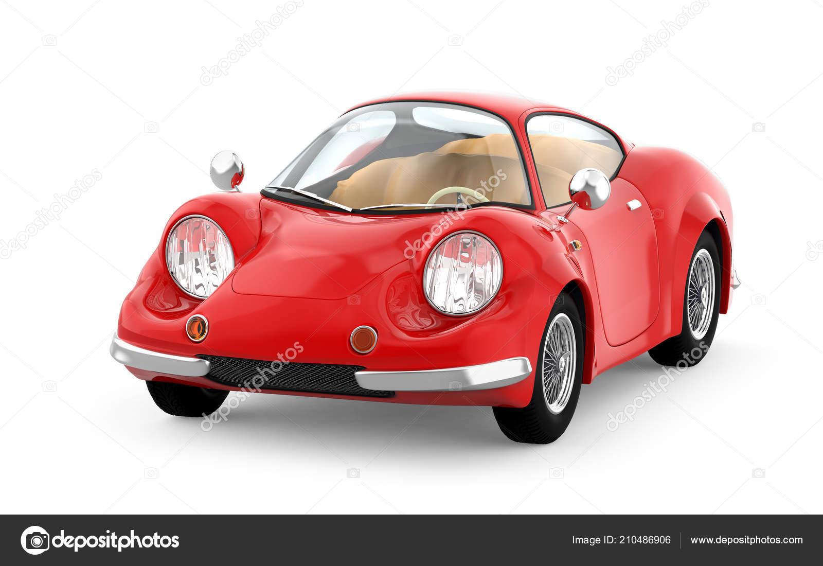 Retro Sport Car Cartoon 3d Stock Photo C Ilterriorm 210486906