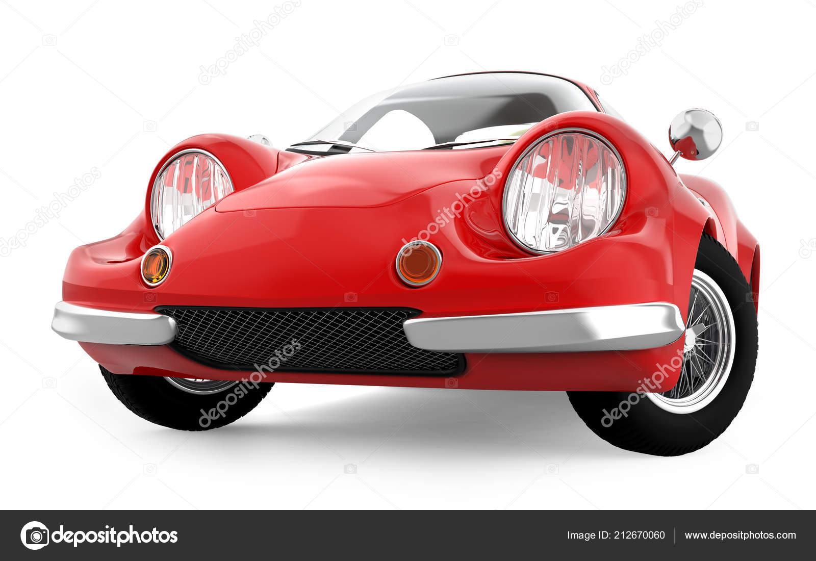 Retro Sport Car Cartoon 3d Stock Photo C Ilterriorm 212670060