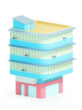 asian corner house