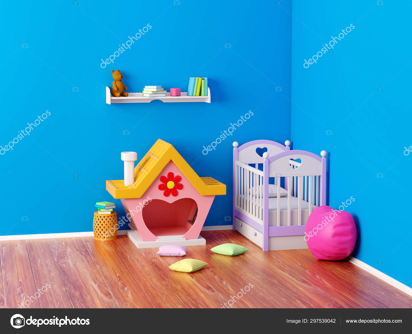 Baby room ginger house