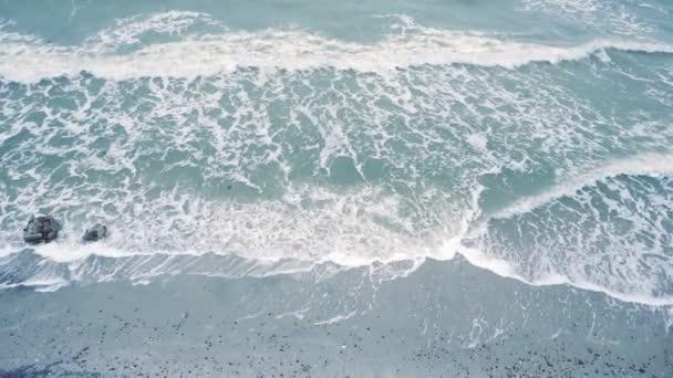 A homokparton a légifelvételek hullámnézete