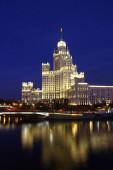 A Kotelnicheskaya rakpart nyolcadik épülete Moszkvában, Oroszországban