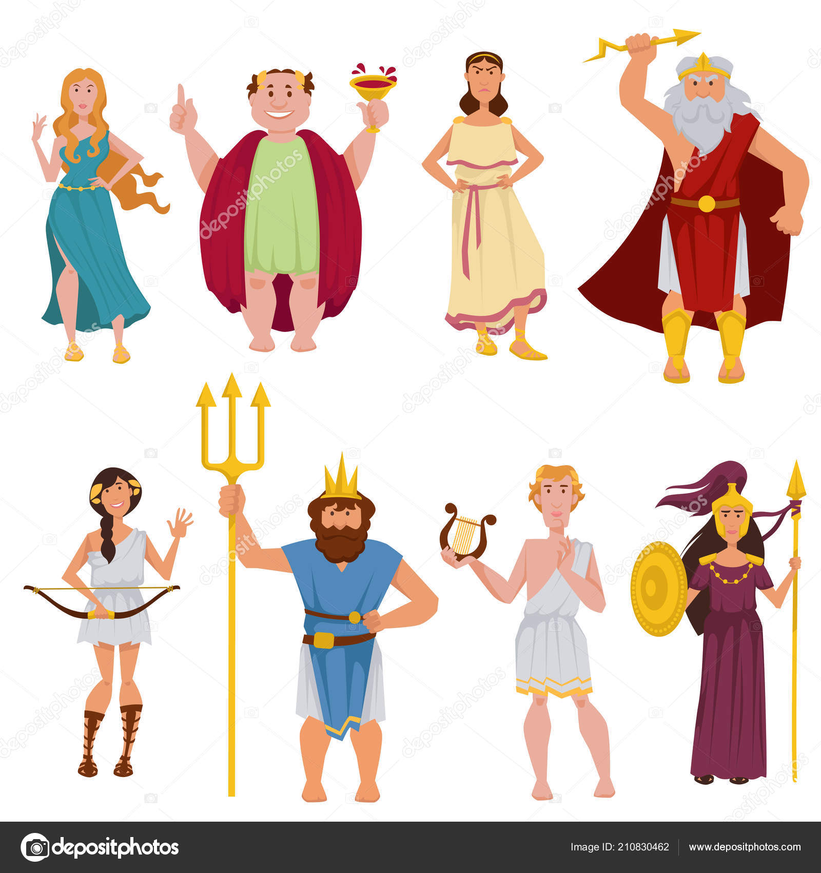 Pictures Cartoon Greek Gods Greek Gods Goddesses Cartoon