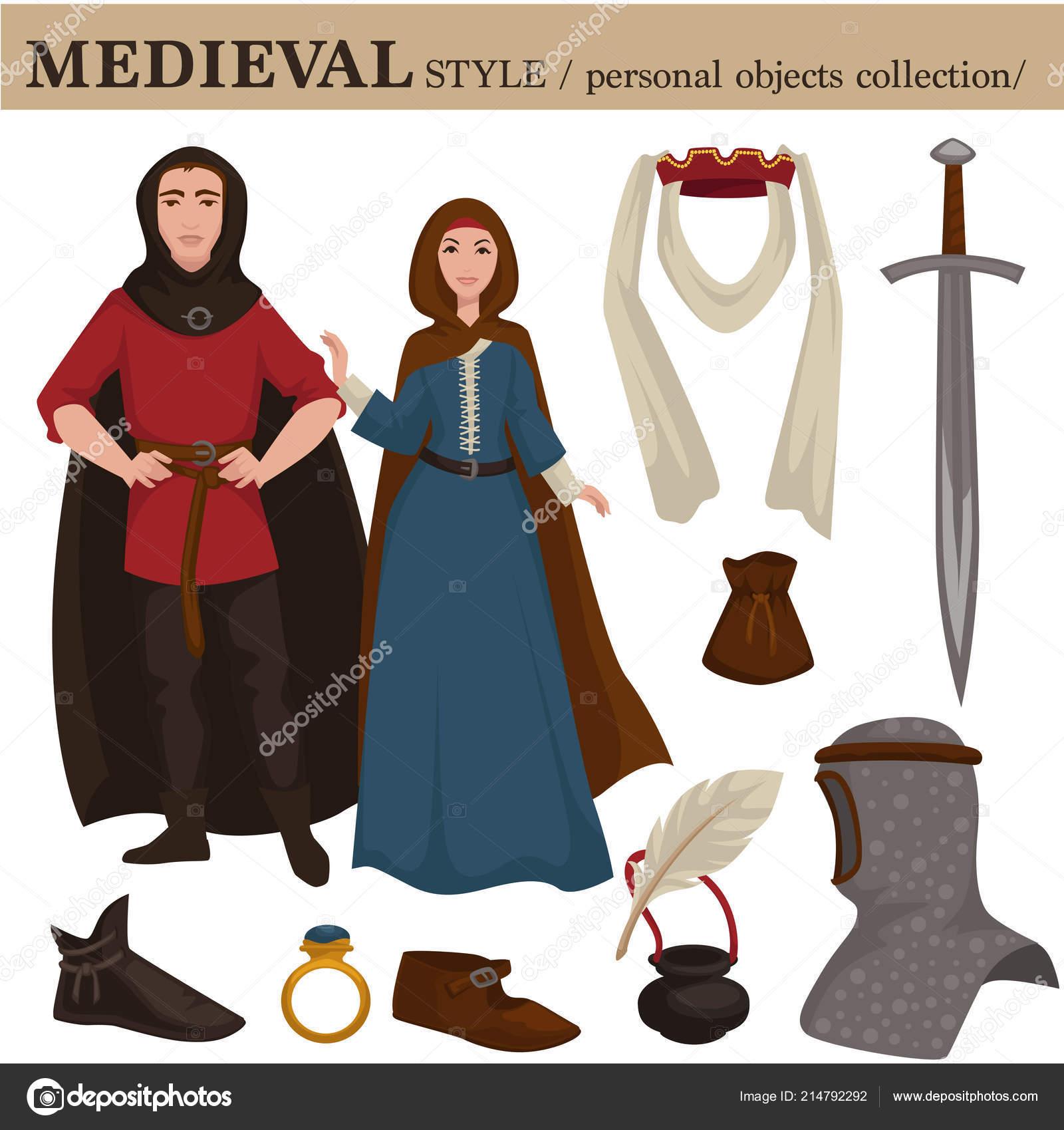 Europeo Moda Stile Donna Retrò Uomo Medievale Abbigliamento Vecchio CxdBoe