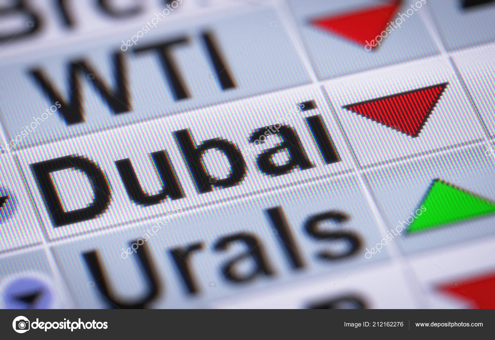Dubai Crude Oil Illustration Stock Editorial Photo Pirenx 212162276