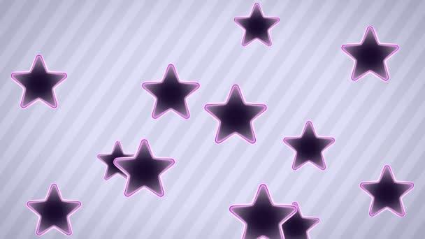 Letící hvězda ikony. Opakování. Alfa kanál je zahrnuta.