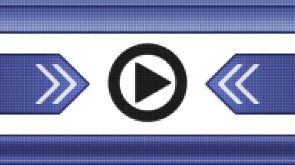 Zahrajte si ikonu na pixel obrazovky. Opakování
