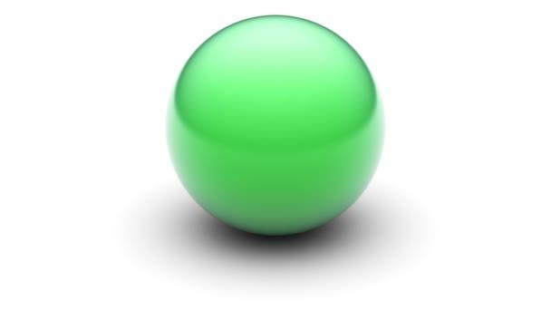 3D model míč. Opakování.