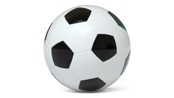 3D-s modellje egy labda. Hurok.