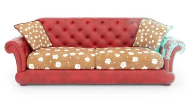 3D model of the sofa. Looping.