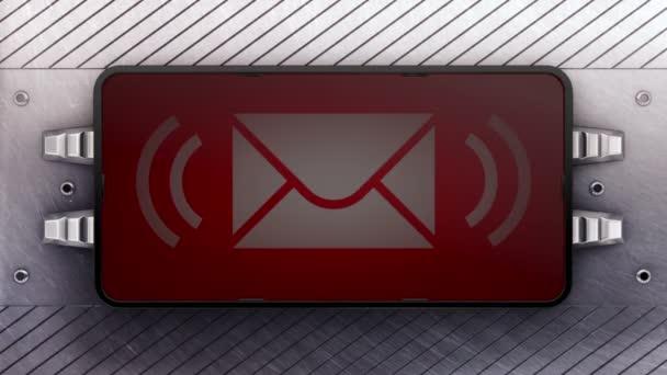 Ikony e-mailu na vývěskách. Opakování.