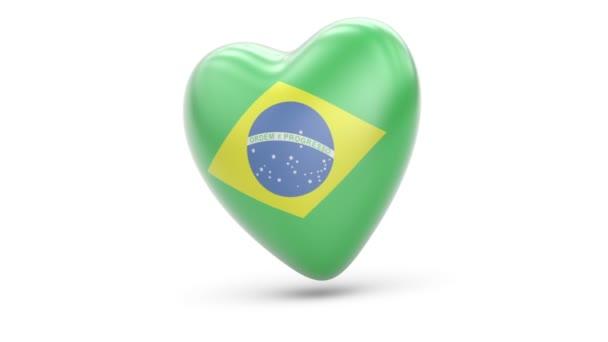 Brazil. Looping. Alpha channel.
