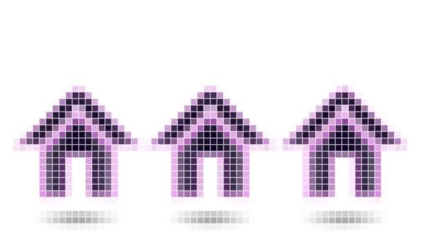 Skákací dům ikona. Opakování.