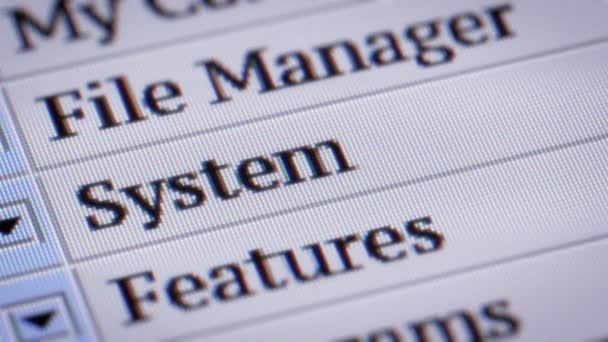 Systém. Opakování. Můj návrh menu programu.