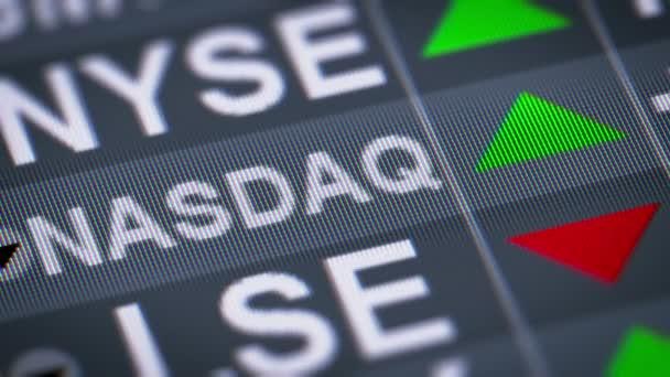 Akciový trh Nasdaq je americká burza. Úspěch. Opakování