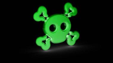 The symbol. 3D Illustration.