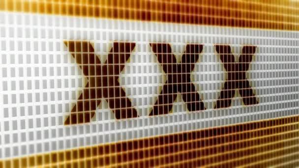 XXXna obrazovce. 4k rozlišení. Kodér Prores 4444. Výborná kvalita. Opakování.
