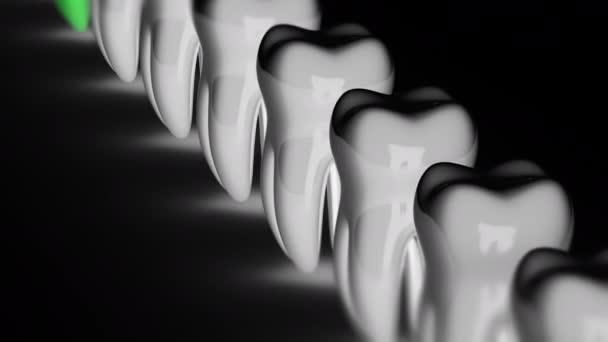 Der Zahn. Looping-Aufnahmen haben eine Auflösung von 4k. Vorbericht 4444.