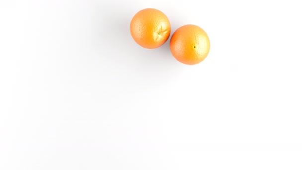 Pomeranče. Stopáž má rozlišení 4 k