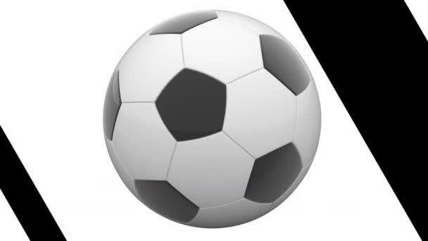 Soccerball. Opakování záběru má rozlišení 4 k. ProRes 4444.